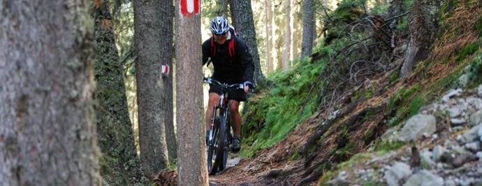Mountainbiketouren in Gerlos