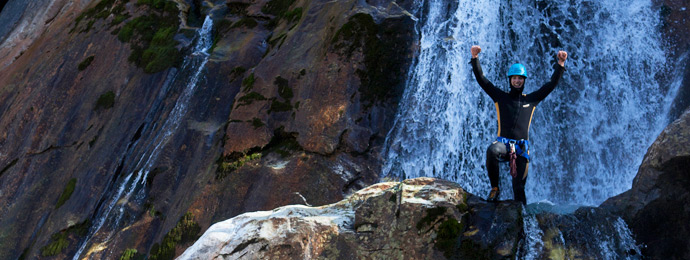 Canyoning in Gerlos